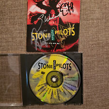 STONE TEMPLE PILOTS signed cd CORE - HETFIELD - ULRICH - HAMMET - NEWSTED