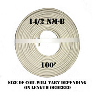 """14/2 NM-B x 100' Southwire """"Romex®"""" Electrical Cable"""