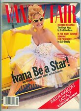 VANITY FAIR MAY 1992 IVANA TRUMP RICHARD BRANSON HILLARY CLINTON IMELDA MARCOS