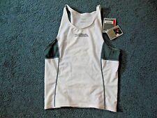 New Tag! Profile Design Mens Small Triathlon Cycling White Gray Shirt Jersey