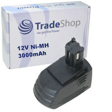 Trade-Shop AKKU 12V 3000mAh Ni-MH ersetzt Hilti SBP10 für SFB121 SFB126 SFB126A
