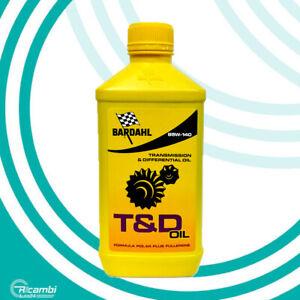 BARDAHL T&D OIL 85W140 OLIO CAMBIO TRASMISSIONE DIFFERENZIALE GL4 GL5 1 LITRO