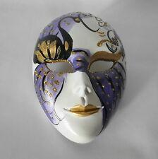 Venezianische Maske mit Aufhängung  handgemalt    Venedig Venice Mask