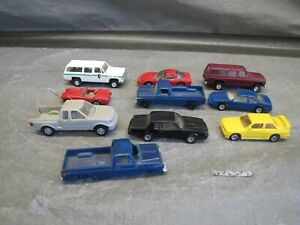 Mixed HO Scale 9 Cars and 1 Body