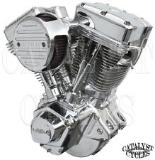 "Polished 127"" Ultima Engine El Bruto Evolution Motor for Harley Evo Engine 84-99"