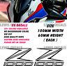 Kawasaki Z1000 Stickers Decals Motorcycle Moto GP Fairing Panel Belly Pan