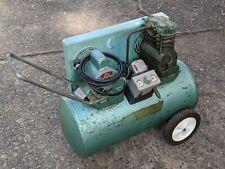 Speedaire Air Compressor Pump With 2hp 115230v Motor Rolling Vintage