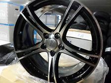 MAM 10 FELGENSATZ SCHWARZ POLIERT IN 8Jx19 ET30  5x112mm für VW,AUDI,SEAT,MERCED