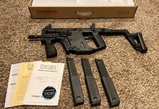 KWA Kriss Vector GBB Black (airsoft) + 3 mags and accessories
