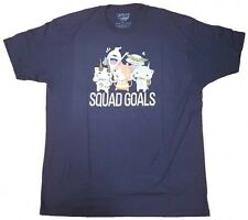 NEW Yo-kai Watch Squad Goals Mens T-Shirt - Navy Blue YK7M0024YE US Seller