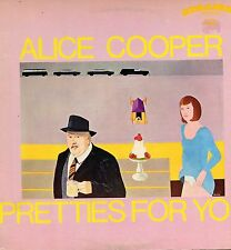 "ALICE COOPER ""PRETTIES FOR YOU"" ORIG US 1969 YELLOW Lbl EX"