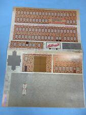 Kelloggs - Train Cutout Buildings - Cardboard - 1975