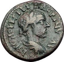 MACRINUS 217AD Parium Parion in MYSIA Authentic Ancient Roman Coin GENIUS i64760