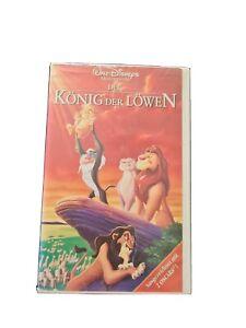 König der Löwen VHS Sammler