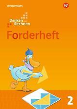 Denken und Rechnen 2. Forderheft. Allgemeine Ausgabe   Ausgabe 2017   Broschüre