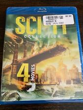 4-Movie Sci-Fi Collection (Blu-ray Disc, 2015) FACTORY SEALED!