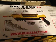 Bug-A-Salt 2.0 Pest Control Gun - Yellow and Black Adults Only