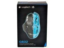 NEW LOGITECH G602 Cordless USB Rechargeable Optical Gaming Mouse for PC & Laptop