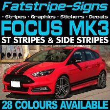 Ford Focus St Rayas MK3 coche Calcomanías Gráficos Pegatinas aleaciones Vinilo 2.0 Turbo