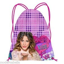 Violetta Kiss Sacco sacchetto zaino,borsa scuola,palestra,temop libero sport