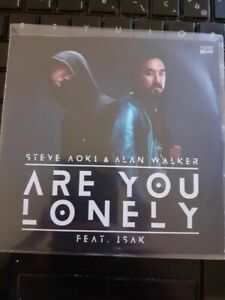 STEVE AOKI & ALAN WALKER PROMO CD FRANCE ARE YOU LONELY FEAT ISAK RARE