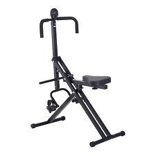 Soozier Whole Body Crunch Horse Riding Machine Coaster Rider W/ Monitor Ab Train