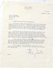 Henry Forster French Escadrille Pilot Ace World War I War Signed Letter       #2