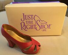 Just The Right Shoe Ravishing Red #25001 Raine & Willitts Designs. 1998.