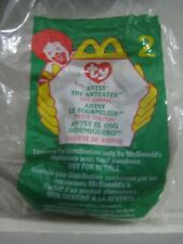 Ty Teenie Beanie McDonalds Happy Meal Antsy the Anteater #2 New in Package 1999