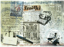 Ricepaper/Decoupage paper,Scrapbooking Sheets/Craft Paper Vintage Old Newspaper