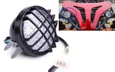 12V LED 3 WIRE HEADLIGHT W/ HIGH LOW BEAM ATV GO KART QUAD SCOOTER H LT04