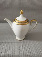Vintage Hutschenreuther Germany Gold Band Tea Pot Bavaria 9'' T ~ 9'' W