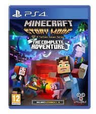 Minecraft Story Mode The Complete Adventure PS4 New Sealed PlayStation 4