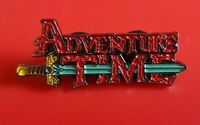 Adventure Time Sword Pin Enamel Brooch Lapel Badge Cosplay Gift POGO Gaming