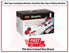 Bias Tape And piping Machine Simplicity Bias Tape & Piping Machine RRP £149