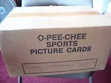 1984 VENDING case 8,000+ OPC o-pee-chee Baseball cards factory sealed mint 10's