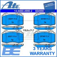 Mercedes-Benz Front DISC BRAKE PAD SET OEM Heavy Duty Ate 13046049902 0064203220