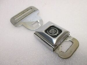 CADILLAC Logo Seat Belt Buckle Push Button With Fixed Latch Seatbelt Buckle