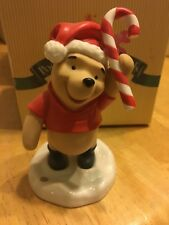 "Disney  - Pooh and Friends Figurine ""Wishing You the Sweetest Holidays"""