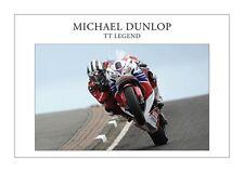Michael Dunlop TT LEGEND Fine Art Print A3