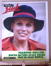 ▬►Flash Nous Deux 1370 de 1973 Marthe Keller_C.Jérôme_Diana Ross