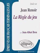 Etude Sur La Règle Du Jeu, Jean Renoir