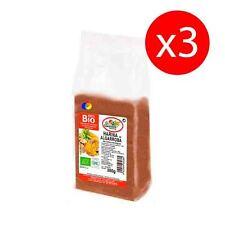 Pack 3 unds. Harina de algarroba ecológica bio 350 gr EL GRANERO