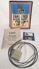 Vintage Img Scan Atari St Image Scanner In Box W/ Disk & Manual Complete Cib