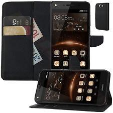 Buch Klapp Tasche Flip Book Schutz Hülle CUN-L21 für Huawei Y5 II  Y5 2 Dual Sim