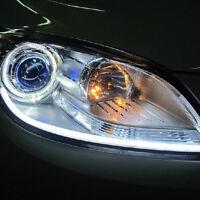 2x 30cm LED Weiß Auto DRL Switchback Strip Streifen Tagfahrlicht Lampe Leuchte 2