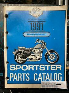 PARTS CATALOG XL MODELS 1991 SPORTSTER HARLEY DAVIDSON 99451-91