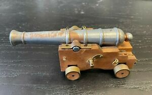 VINTAGE MARINE CANNON ?  - COOL  -  RARE ? ABT 6 IN