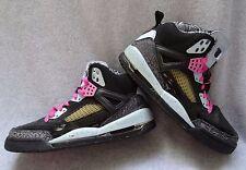 Nike AIR Jordan SZ 8 Spiz'ike Women Pinkfire 317574 062 Cement Mars Blackmon QS