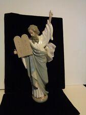"""Lladro Spain Porcelain Moses Ten Commandments Figurine 16.5"""" Excellent! #5170"""